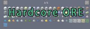 Hardcore ORE - новые руды [1.12.2] [1.11.2] [1.10.2]