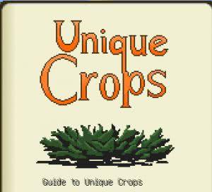 Unique Crops Mod - новые семена [1.12.2] [1.11.2] [1.10.2]