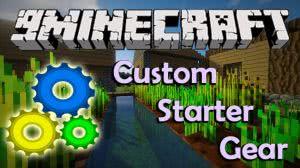 Custom Starter Gear Mod - стартовый набор [1.12.1] [1.11.2] [1.10.2]