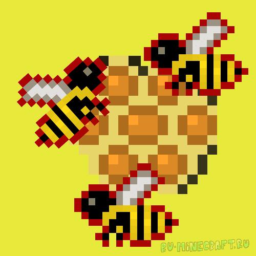 Скачать мод на пчел.