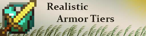 Realistic Armor Tiers - баффы от надетой брони [1.12.2] [1.10.2]