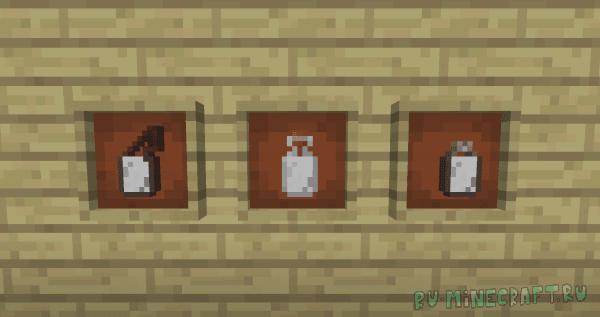 Bottled Milk - молоко в бутылках [1.12.2] [1.11.2] [1.10.2]