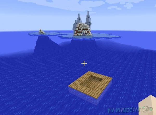 Evil Ocean - выживай в океане.[1.11.2|1.10.2|1.8.9|1.7.10]