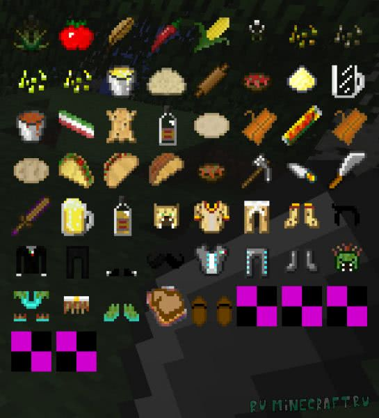 Mexican Mod [1.10.2] [1.7.10] [1.6.4]