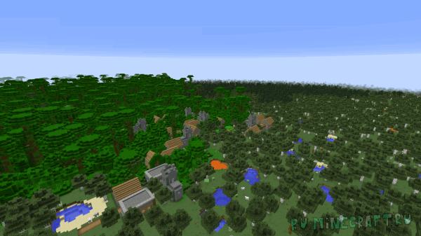 OTG: Flatlands - плоский мир [1.12.2] [1.11.2] [1.10.2]