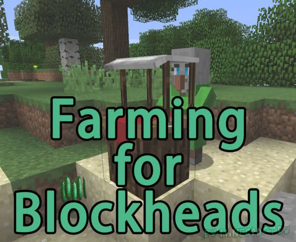 Farming for Blockheads - магазин с семенами [1.12.2] [1.11.2] [1.10.2]