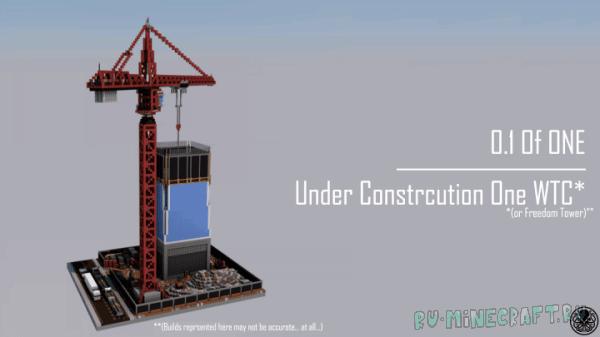 Стройка небоскреба - карта [1.11+]