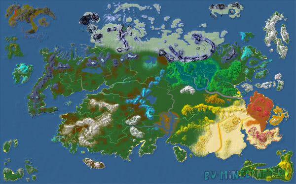 Yarowyn - грандиозная карта [1.10.2]