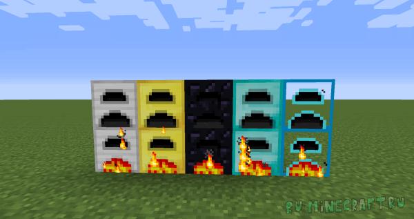 Iron Furnaces - уникальные печки [1.7.10]