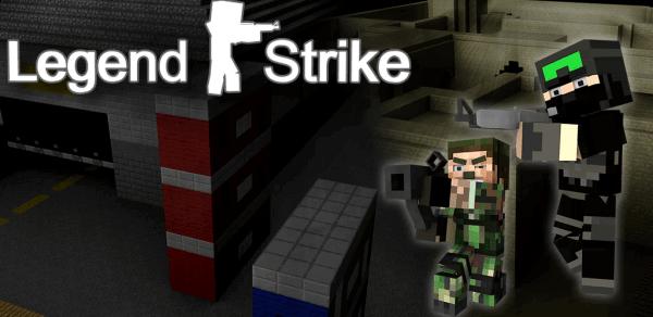 Legend Strike - начало легенды. CS в оформлении майнкрафт[Game]