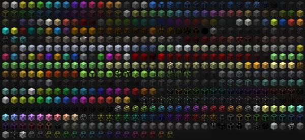 Xtones - разноцветные блоки [1.12.2] [1.11.2] [1.10.2]
