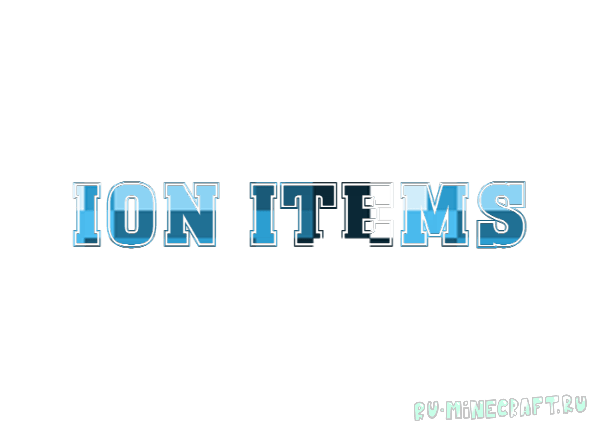 Ion Items [1.11|1.10.2]