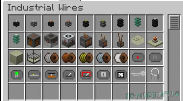 Industrial Wires [1.12.2] [1.11.2] [1.10.2]