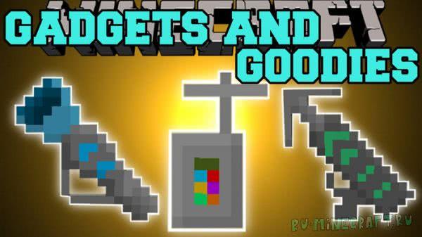 Gadgets n' Goodies Mod [1.12] [1.11.2] [1.10.2] [1.9] [1.8.9] [1.7.10]