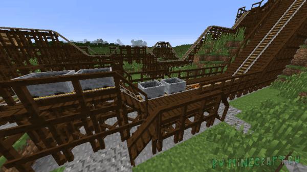Platforms mod - декор станций, платформ [1.14.4] [1.12.2] [1.11.2] [1.10.2] [1.8.9] [1.7.10]