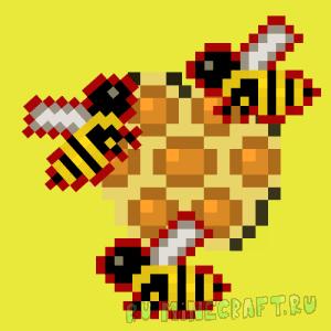 More Bees mod - больше пчел [1.12.2] [1.11.2] [1.10.2] [Addon]