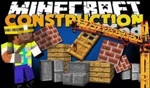 Cranes & Construction - краны в майнкрафт [1.11.2]