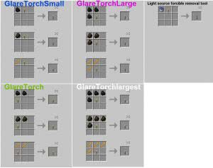 Glare Torch - улучшенные факелы  [1.12.2] [1.11.2] [1.10.2] [1.7.10]