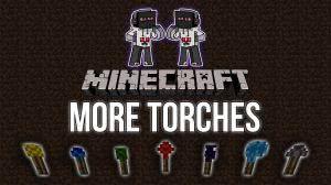 MoreTorches - новые факелы! [1.7.10]