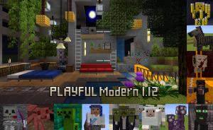PLAYFUL Modern - модерн [1.12|1.11.2|1.10.2][32x32]