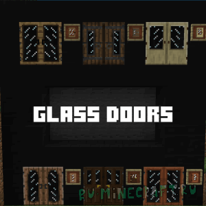 GlassDoors [1.11.2|1.10.2][32xp]