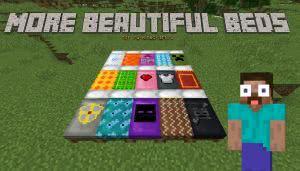 More beautiful beds - более красивые кровати [ResourcePack][1.12]