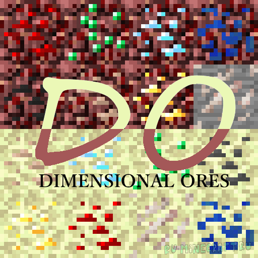 Dimensional Ores [1.12.2] [1.11.2] [1.10.2] [1.9.4]