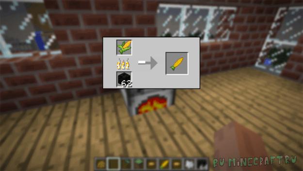 Simple Corn - Кукуруза [1.12.2] [1.11.2] [1.10.2] [1.9.4] [1.8.9]