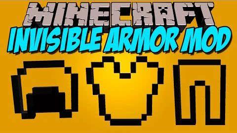 Invisible Armor - невидимая броня [1.7.10]
