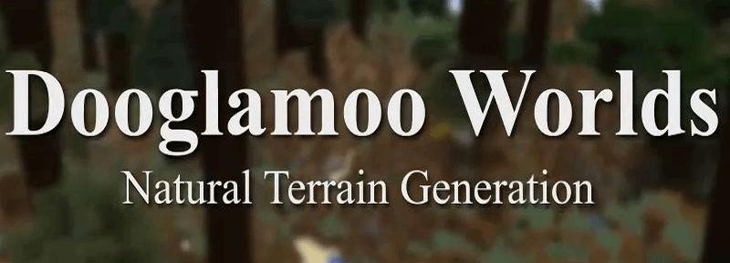 Dooglamoo Worlds - реалистичная генерация [1.15.2] [1.14.4] [1.12.2]