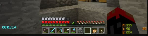 Batty's Coordinates PLUS [1.12.2] [1.11.2] [1.10.2] [1.9.4] [1.8.9] [1.7.10]