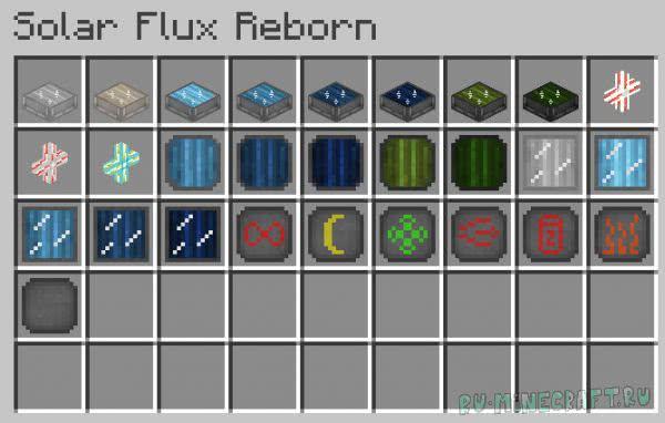 Solar Flux Reborn [1.12.2] [1.11.2] [1.10.2] [1.9.4]