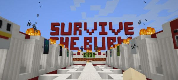 Survive the Burn карта на выживание [1.12+]