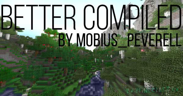 Better Compiled - мрачноватый текстурпак [1.12][16px]