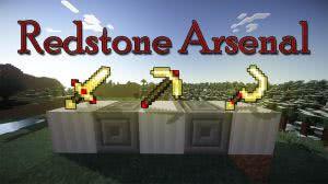 Redstone Arsenal - оружие, броня, инструмент на RF энергии  [1.12.2] [1.11.2] [1.10.2] [1.7.10]