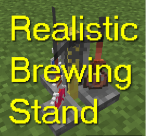 Realistic Brewing Stand [1.12.2] [1.8.9] [1.7.10]