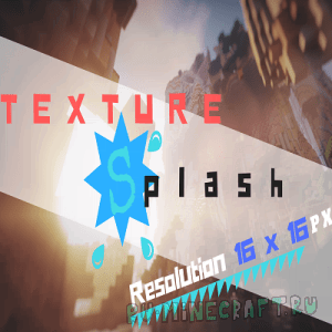 TextureSplash - красивый и простой ресурспак [1.12][16x16]