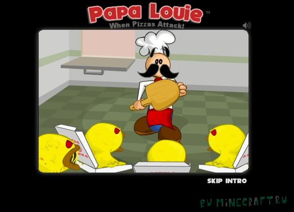 Papa Louie: When Pizzas Atack! - Пицца Атакует! [Game][Разное]