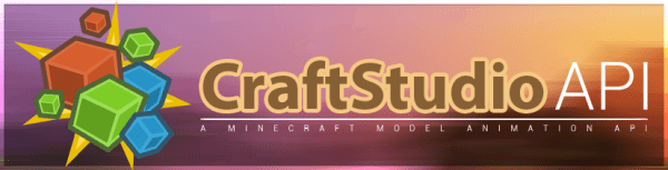 CraftStudio API [1.12.2] [1.11.2] [1.10.2] [1.9.4]
