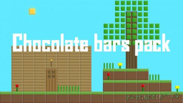 Chocolate bars pack [1.16.1] [1.15.2] [1.14.4] [1.11.2] [16x16]
