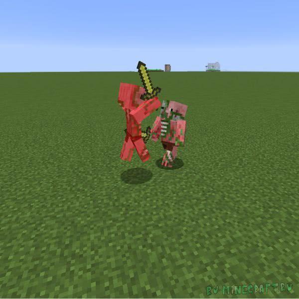 Mob Battle Mod - война мобов [1.12.2] [1.11.2] [1.10.2] [1.8.9] [1.7.10]