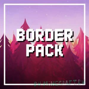 Border Pack - простой пак [1.12][16px]