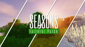 Seasons Addon for Faithful - смена сезонов с фейтфулом [1.12] [32px]