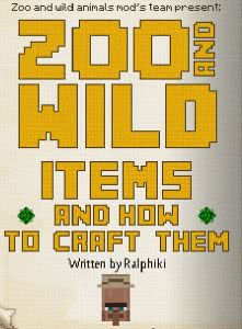 Zoo & Wild Animals Mod [1.8]