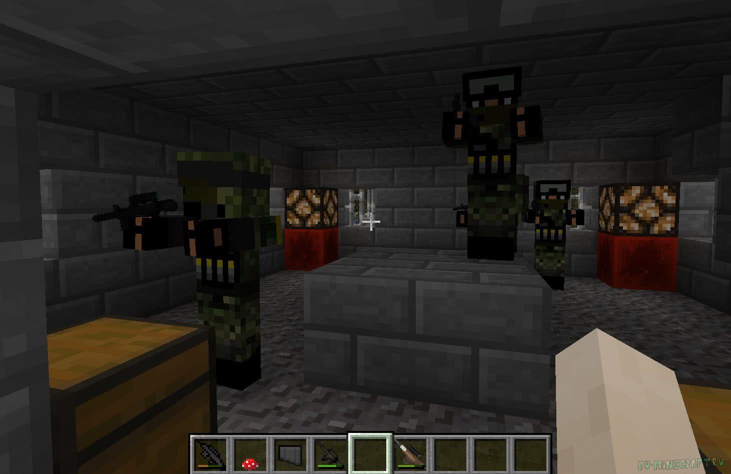 зомби играть с апокалипсис майнкрафт картой в