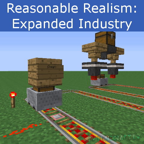 Expanded Industry [1.12.2] [1.11.2] [1.10.2] [1.7.10]