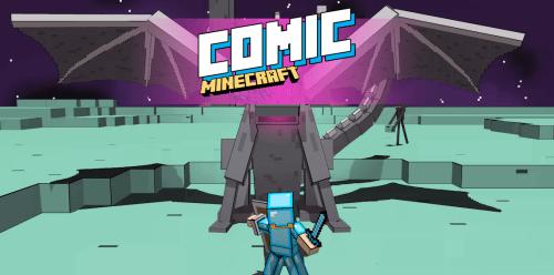Comic Minecraft - комиксы в майнкрафт [1.12.1] [1.12] [1.11.2] [16px]