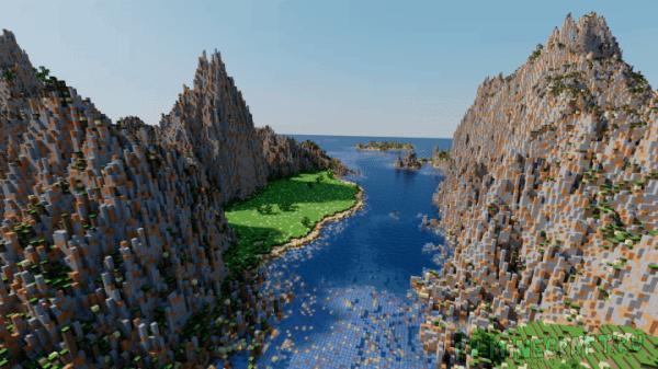 Sea Cliffs - карта с горами и горной местностью [Map]
