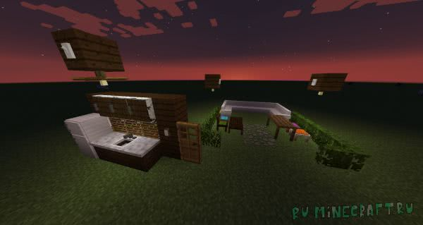 How 'Bout That Furniture - мод на мебель [1.12.2] [1.11.2] [1.10.2]