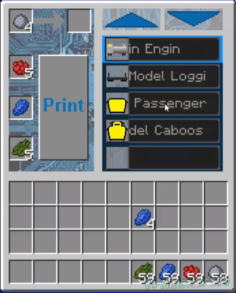 Model Trains Mod [1.12.2] [1.12.1] [1.10.2]